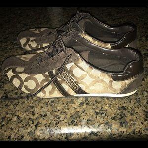 Coach Kathleen sneaker.  Size 8